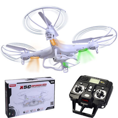 Syma X5C-1 RC Quadcopter Drone with HD Camera 2.4G 4CH 6-Axis Gyro Kids Gifts