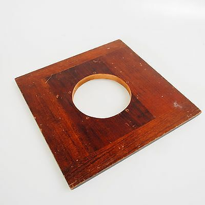 = Burke & James 8x10 Wooden Lens Board Copal 5 EX+
