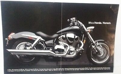 Honda VTX Motorcycle Undated Folded Poster 11x17 inches