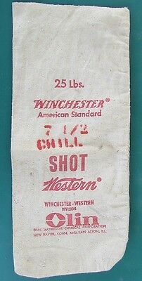 Winchester 25lbs 7-1/2 Chill Shot Olin Shot Bag