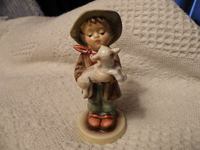 Hummel Goebel Lost Sheep Figurine W. Germany 1992 Ne Final Edition Excellent