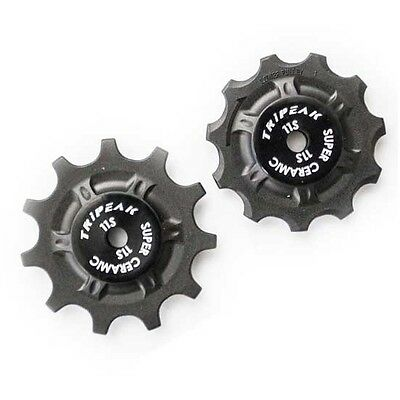 Tripeak Super Ceramic 11T Pulley Set for Shimano/Campagnolo/Sram Ceramicspeed