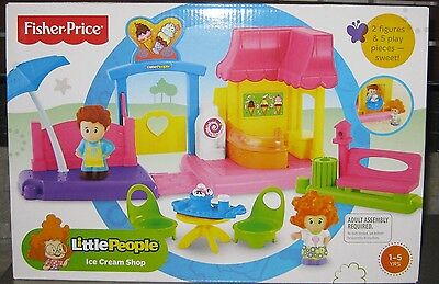 Fisher Price Little People Ice Cream Shop *brand New*