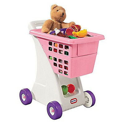Little Tikes Shopping Cart Pink Role-Play Toy