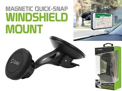 Magnetic Quick-Snap Windshield Car Mount Phone Holder for Samsung Galaxy S7 Edge