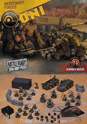 Rackham AT-43 Oni Army Box Box VG+