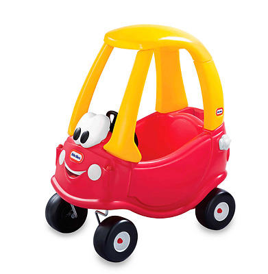Little Tikes Cozy Coupe Red Car Special Edition Child Sized Ride on Toy