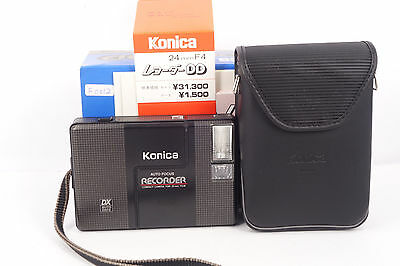 Konica Recorder auto focus compact camera for 35mm film BOXEDfree shipping JAPAN