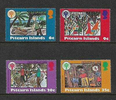 PITCAIRN ISLANDS - mint, 1979 Christmas (Year of the Child), set of 4, MNH MUH