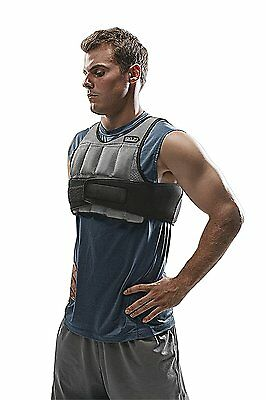 Variable Weight Resistance Training Vest Up to 10Lb Sport Fitness Push Pull Ups