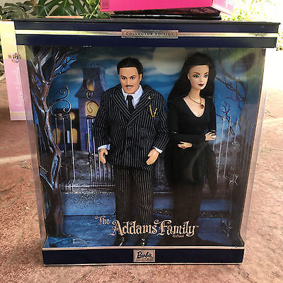 Barbie Doll and Ken in The Addams Family Collector Edition Gift Set 2000