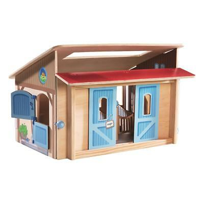 Haba Little Friends Horse stable Play set for the HABA Toy world Horses from 3 J
