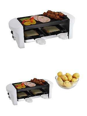 Luxus 2 1 Raclette Grill 2 Personen Tisch Grill Party Elektrogrill 55995919