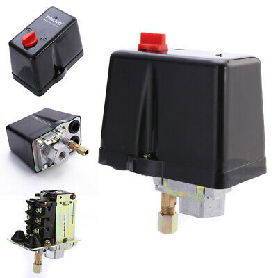 3-Phase  380V /400V 16A Pressure Switch For Air Compressors 3-12 bar
