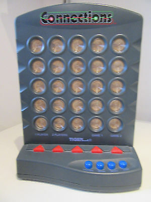 Rare Vintage Electronic Connections Game by Tiger Electonics