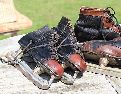 Men's Vintage Canadian Ice Skates