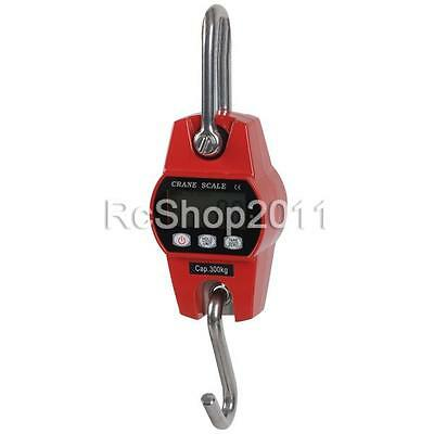 Heavy Duty Digital Hanging Scale 300KG 600 LBS Industrial Crane Scale AU