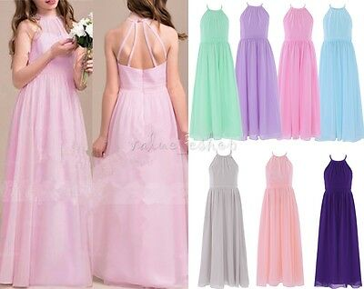 Girl Kid Princess Party Flower Wedding Pageant Bridesmaid Birthday Formal Dress