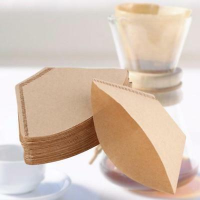 100pcs Expresso Cup Coffee Machine Maker Paper Filter Paper Fit 2 - 4 cups FW