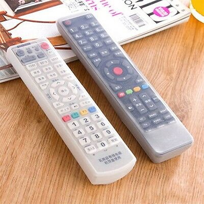 TV Remote Control Waterproof Dust Silicone Skin Protective Cover Case WO