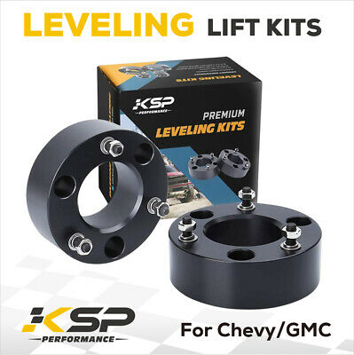 Chevy Silverado Sierra 1500 2'' Front Leveling Lift Kit 07-17 Pickup 2 in GMC