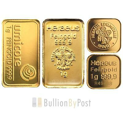 1 Gram Gold Bar Best Value