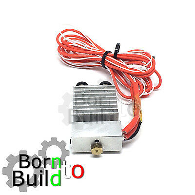 extruder All-metal Cyclops Dual Multi-extrusion v5 v6 Long Distance 1.75mm/0.4mm