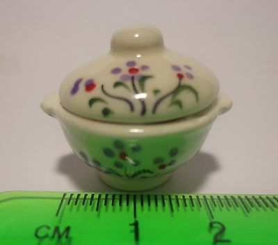 1:12 Scale Casserole Dish Dolls House Miniature Ceramic Kitchen Accessory
