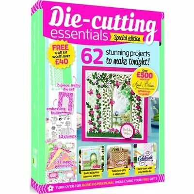 Die-Cutting Essentials Special Edition Issue 5 Magazine Free Craft Kit Worth £40