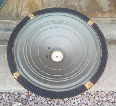 "British Thomson-Houston 12"" Speaker Driver - BTH AA15A - Rare?"
