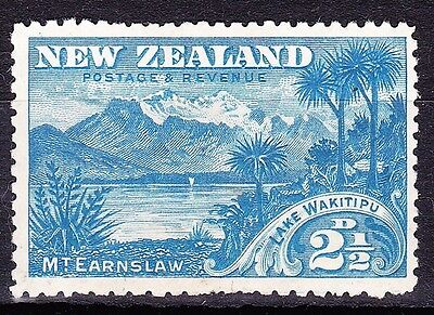 NEW ZEALAND 1898 2.5d Sky-Blue SG249 MH Cat £11.