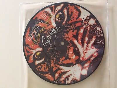 "Survivor - Eye of the Tiger Rocky Ltd Edition 7"" Picture Disc Vinyl Ultra Rare"