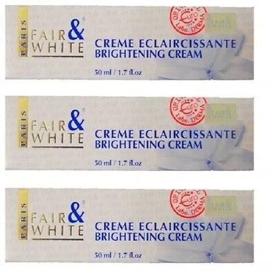 3 X Fair And White Brightening Cream 50ml | 100% Authentic | Next Day Dispatch |