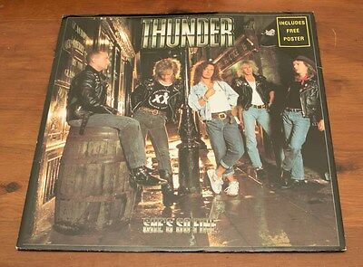 "Thunder: She's So Fine - 12"" Vinyl Single - Including Poster"