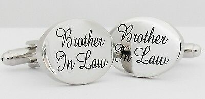 Wholesale Job Lot 37x Pairs Silver OVAL Brother In Law Cufflinks