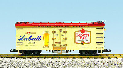 USA Trains G Scale 16476 U.S. REEFER CAR LaBatts Ale NEW RELEASE