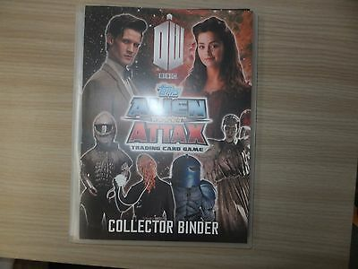 Doctor Who Alien Attax Trading Cards Complete Collection (Set 1)