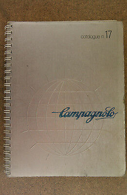 Vintage 1970's Campagnolo Number 17 / No.17 catalogue Nuovo - Super Record Pista