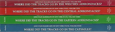 MOUNTAIN RAILROADS of NEW YORK STATE series: (4 BOOKS -- Special 15% off)