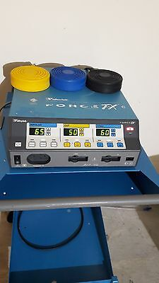 ValleyLab Force FXc Electrosurgical Generator with footswitch and Trolley