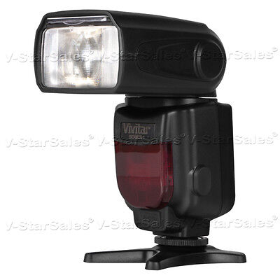 Vivitar DF-252 Digital DSLR TTL Flash for Nikon D3200 D3300 D3400 D5000 D5100