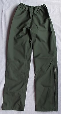 """Waterproof Overtrousers - Black - Top Quality - XSmall Size - 22""""-28"""" Waist NEW"""