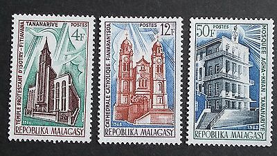 Madagascar (1968) Buildings / Architecture / Churches  - Mint (MNH)