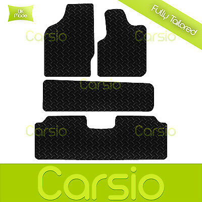 Tailored Seat Cover For People Carrier Black Leather Look