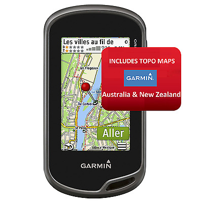 Brand New! Garmin Oregon 600T Handheld Gps Navigator With Topo Maps Of Au & Nz