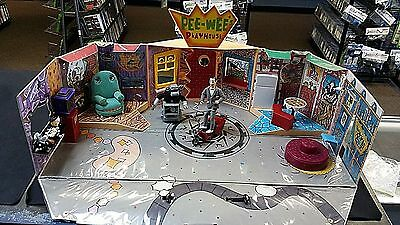 Rare Pee Wee's Playhouse Playset 1987 by Matchbox with Figures