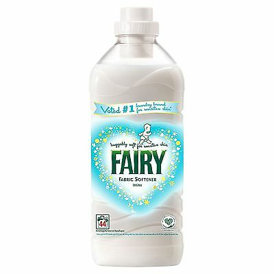 Fairy Original Fabric Conditioner Clothes Softener Laundry Detergent - 44 Washes