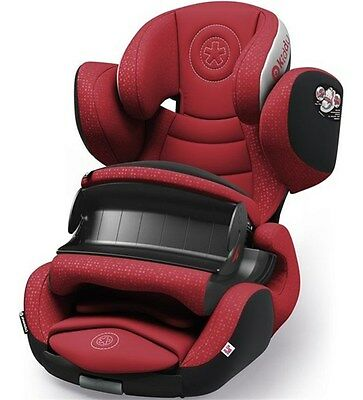 Kiddy Phoenixfix 3 Baby / Toddler / Infant / Isofix Group 1 Car Seat - Ruby Red