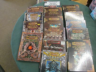DUNGEONS & DRAGONS 3.5E D20 FORGOTTEN REALMS 2nd ED MULTILISTING D&D AD&D RPG