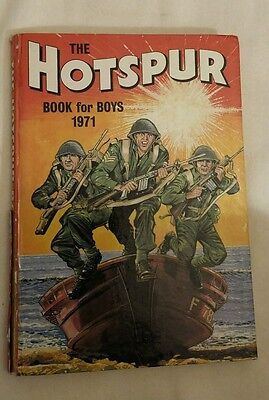 The Hotspur book for boys 1971